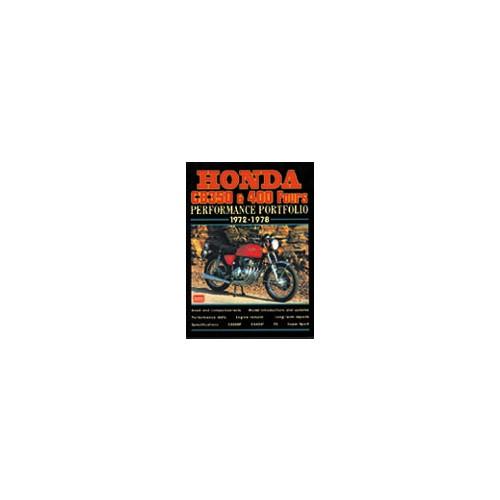 Honda CB350/400 Fours 1972-78 image #1
