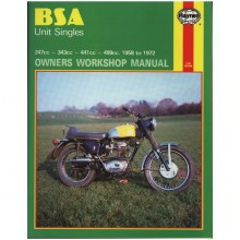 BSA Unit Singles Haynes Manual