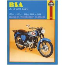BSA A7 & A10 Twins Haynes Manual