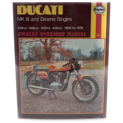 Ducati Mk III & Desmo Singles Haynes Manual image #1