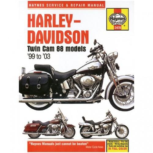 Harley-Davidson Twin Cam 88 Haynes Manual image #1