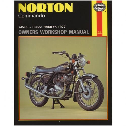 Norton Commando Haynes Manual image #1