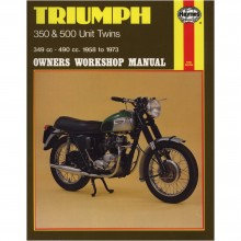 Triumph 350 & 500 Unit Twins Haynes Manual
