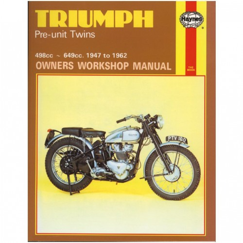 Triumph Pre-Unit Twins Haynes Manual image #1