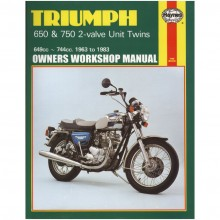 Triumph 650/750 2V Unit Twins Haynes Manual