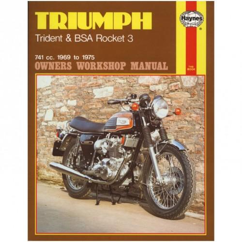 Triumph Trident & BSA Rocket 3 Haynes Manual image #1