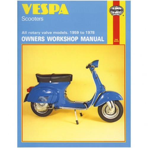 Vespa Scooters Haynes Manual image #1