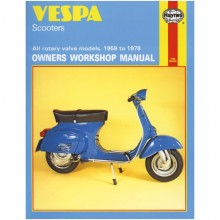 Vespa Scooters Haynes Manual