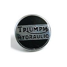 Triumph Hydraulic Lapel Badge