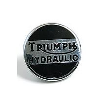 Triumph Hydraulic Lapel Badge