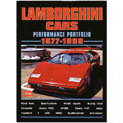 Lamborghini Cars 1977-89 image #1