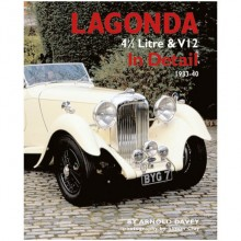 Lagonda 4 1/2/V12 in detail