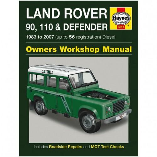 Land Rover 90  110 & Defender Diesel Haynes Manual image #1