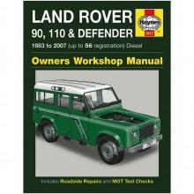 Land Rover 90  110 & Defender Diesel Haynes Manual