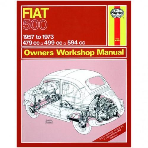 Fiat 500 (1957-1973) up to M Haynes Manual image #1