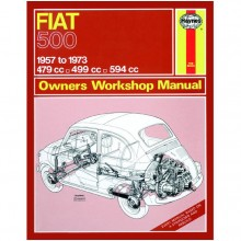Fiat 500 (1957-1973) up to M Haynes Manual