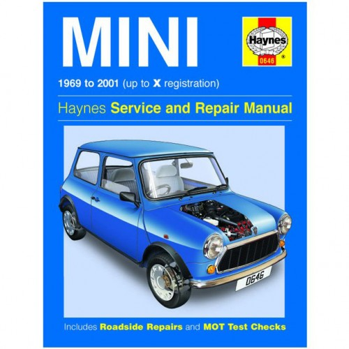 Mini (1969 - 2001) Petrol up to X Haynes Manual image #1