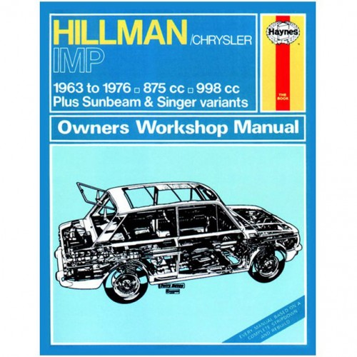 Hillman Imp (1963-1976) up to R Haynes Manual image #1