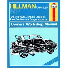 Hillman Imp (1963-1976) up to R Haynes Manual