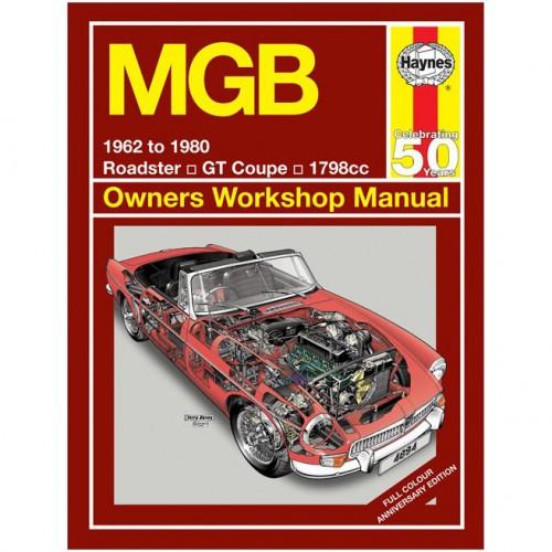 MGB 1798cc (1962-1980) Haynes Manual Special Edition image #1