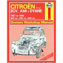 Citroen 2CV  Ami and Dyane (1967-1990) up to H Haynes Manual