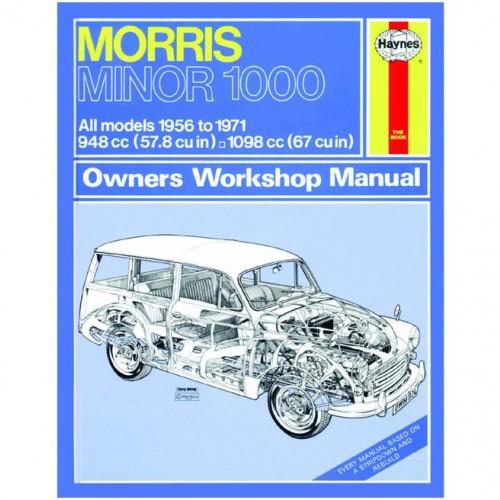 Morris Minor 1000 (1956 -1971) up to K Haynes Manual image #1
