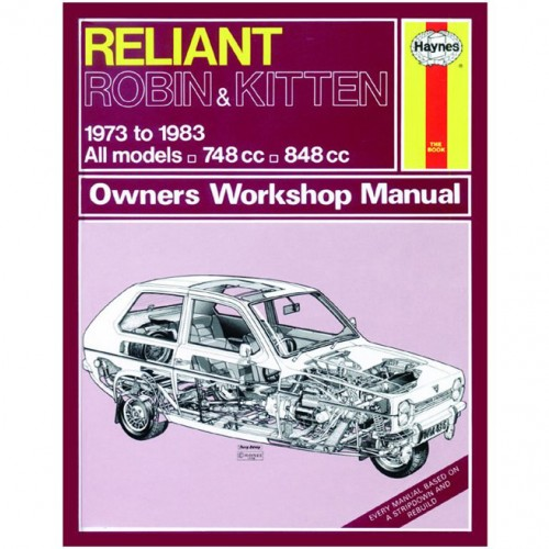 Reliant Robin and Kitten (1973-1983) up to A Haynes Manual image #1