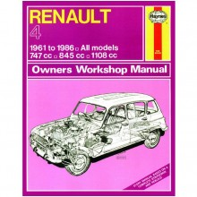 Renault 4 (1961-1986) up to D Haynes Manual