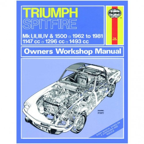 Triumph Spitfire (1962-1981) up to X Haynes Manual image #1