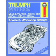 Triumph Spitfire (1962-1981) up to X Haynes Manual