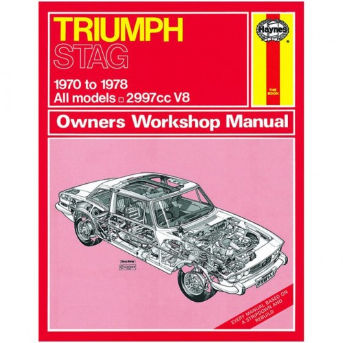 Triumph Stag (1970-1978) up to T Haynes Manual image #1