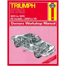 Triumph Stag (1970-1978) up to T Haynes Manual