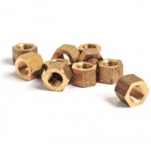 3/8 UNF Brass Nut