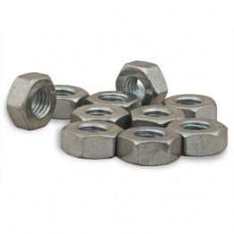 "Nut 1/4 BSF Steel Plated """
