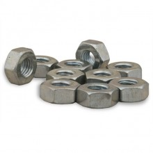 Nut 1/4 BSF Steel Plated ""