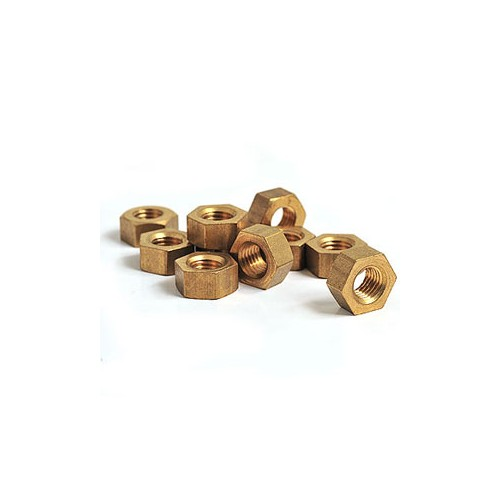 1/4 BSF Brass Nut image #1