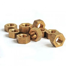1/4 BSF Brass Nut