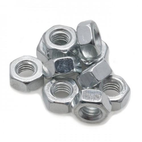 2BA Nut Steel Pkt 10 image #1
