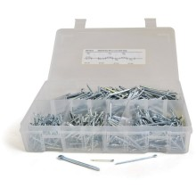 Box of Assorted Split Pins