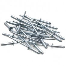 Steel Pop Rivets 1/8 x 1/2 in