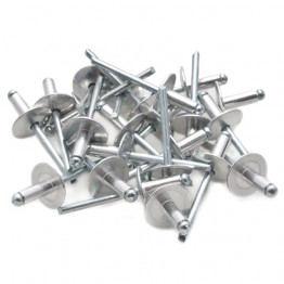 Alloy Pop Rivets with Large Flange 3/16 x 1/2 in