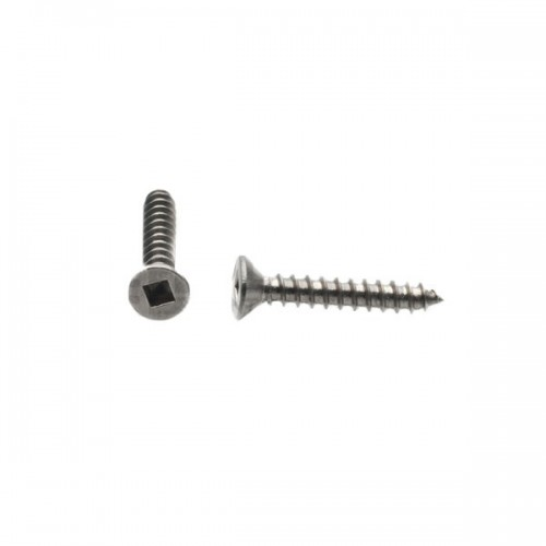 Robertson Screw No 3.5 Full Flat Countersunk Zinc 30mm long image #1