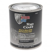 POR-15 Top Coat - Chassis Black - 0.946 litre