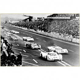Le Mans Print 25 from the film
