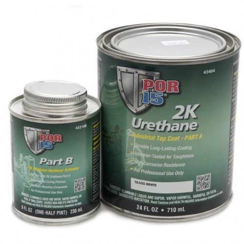 2K Urethane Paint - White - 0.946 litre (US Quart) image #1