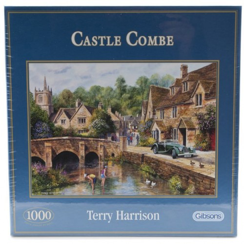 Castle Combe Jigsaw Puzzle image #1