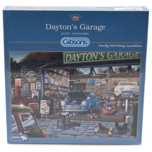 Dayton's Garage Jigsaw Puzzle image #1