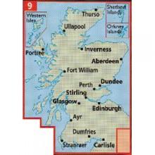 AA Map of Scotland