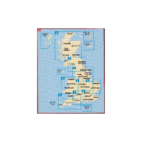 AA Map of Great Britain image #1