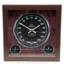 Classic Car Speedometer Clock - Aston Martin